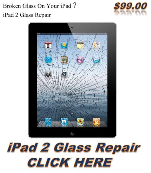 ipad 2 glass repair